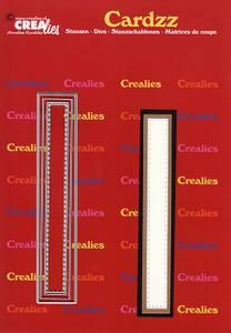 Bilde av Crealies - Dies - Cardzz 409 - Letter I