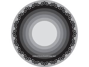 Bilde av Marianne Design - Craftables dies - CR1331 - BASIC - ROUND