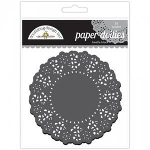 Bilde av Doodlebug Design - 4462 - Paper Doilies - Beetle Black - 75 stk