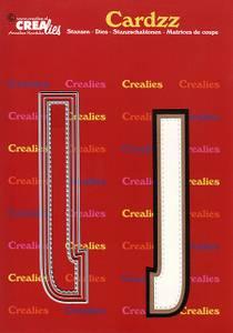 Bilde av Crealies - Dies - Cardzz 410 - Letter J
