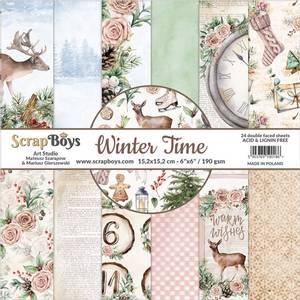 Bilde av ScrapBoys - Winter Time - 6x6 Paper Pad