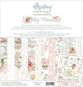 Bilde av Mintay - TIN - 12x12 Paper Set - Tiny Miracle