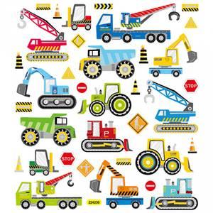 Bilde av Creotime - Stickers - 29175 - Byggeplass Kjøretøy