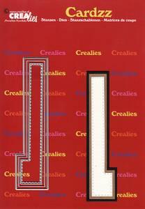 Bilde av Crealies - Dies - Cardzz 412 - Letter L