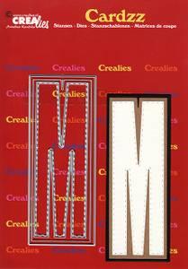 Bilde av Crealies - Dies - Cardzz 413 - Letter M