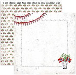Bilde av Papirdesign PD15037 - Hell Og Lykke - Flagget til topps