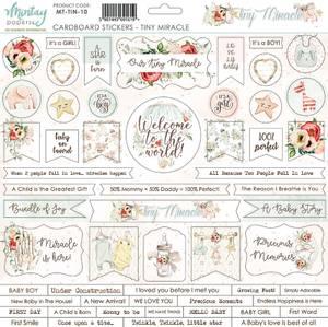 Bilde av Mintay - TIN - 12x12 - Tiny Miracle - Cardboard Stickers