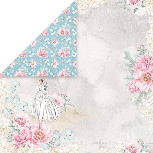 Craft & You - PW01 - Pastel Wedding 01 - 12x12