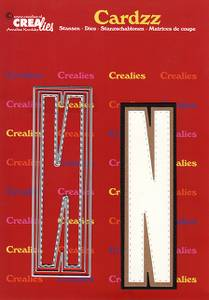 Bilde av Crealies - Dies - Cardzz 414 - Letter N