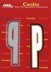 Bilde av Crealies - Dies - Cardzz 416 - Letter P