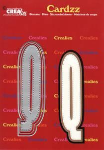 Bilde av Crealies - Dies - Cardzz 417 - Letter Q