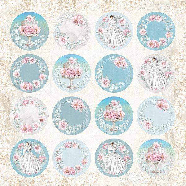Craft & You - PW07 - Pastel Wedding 07 - 12x12