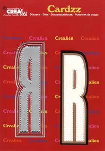 Bilde av Crealies - Dies - Cardzz 418 - Letter R