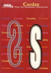 Bilde av Crealies - Dies - Cardzz 419 - Letter S