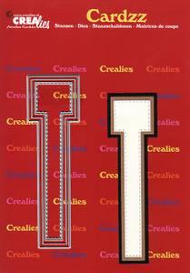 Bilde av Crealies - Dies - Cardzz 420 - Letter T