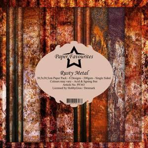 Bilde av Paper Favourites - 12x12 Paper Pack - PF363 - Rusty Metal