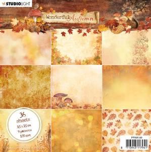 Bilde av Studiolight -  149 - PaperPad 15x15cm - Wonderful Autumn