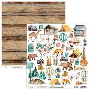 Bilde av Mintay - WIL - 12x12 - Wilderness - 09 Die Cut Sheet