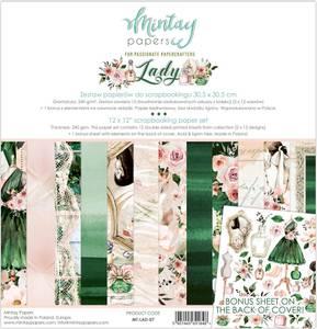 Bilde av Mintay - LAD - 12x12 Paper Set - Lady