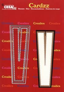 Bilde av Crealies - Dies - Cardzz 422 - Letter V
