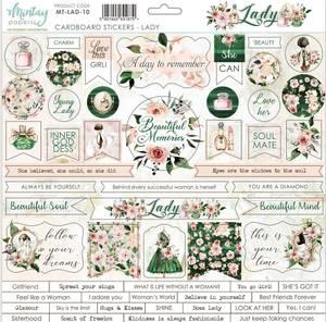Bilde av Mintay - LAD - 12x12 - Lady - Cardboard Stickers