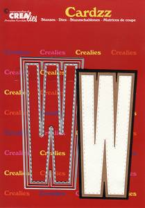 Bilde av Crealies - Dies - Cardzz 423 - Letter W