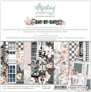 Bilde av Mintay - DAY - 6x6 Paper Pad - Day by Day