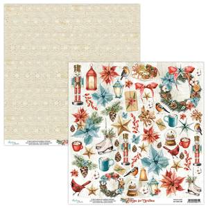 Bilde av Mintay - HFC - 12x12 - Die Cut Sheet - Home for Christmas