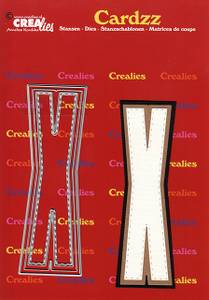 Bilde av Crealies - Dies - Cardzz 424 - Letter X