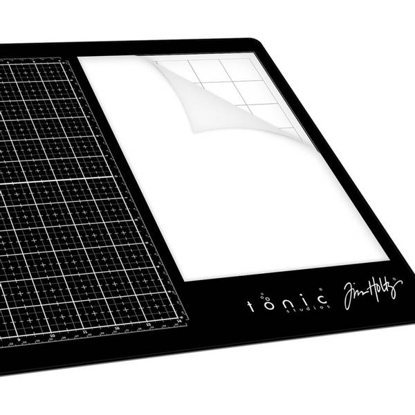 Tim Holtz - 1915E - Replacement Non-Stick Mat For Glass Media Ma