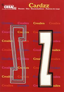 Bilde av Crealies - Dies - Cardzz 426 - Letter Z