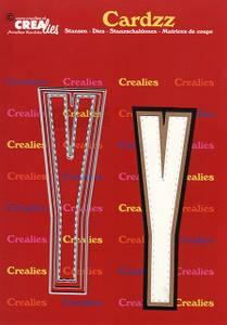 Bilde av Crealies - Dies - Cardzz 425 - Letter Y