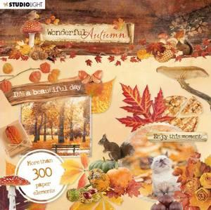 Bilde av Studiolight -   664 - Die Cut Book - Wonderful Autumn