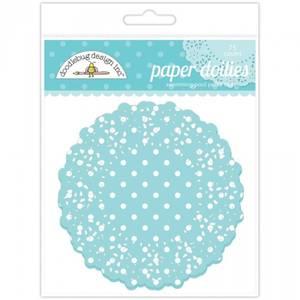 Bilde av Doodlebug Design - 4469 - Paper Doilies - Swimming Pool Polka Do