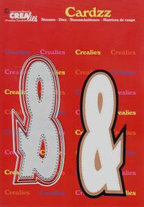 Bilde av Crealies - Dies - Cardzz 427 - & sign