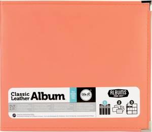 Bilde av We R - 660906 - Leather D-Ring Album - 12x12 - Coral