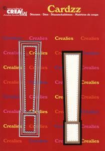 Bilde av Crealies - Dies - Cardzz 428 - ! sign