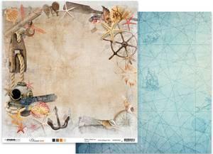 Bilde av Studiolight - 12x12 - ScrapOV04 - Ocean View 04