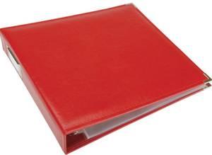 Bilde av We R - 660920 - Leather D-Ring Album - 12x12 - Real Red