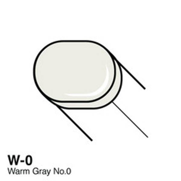 Copic - Sketch Marker - W0 - WARM GRAY NO.0