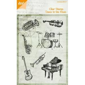 Bilde av Joy Crafts - Clear stamps - 6410-0429 - Dance to the Music