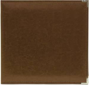 Bilde av We R - 660909 - Leather D-Ring Album - 12x12 - Dark Chocolate