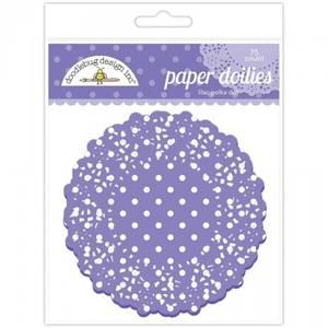 Bilde av Doodlebug Design - 4471 - Paper Doilies - Lilac Polka Dot
