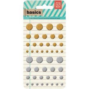 Bilde av BASIC GREY - BASICS CANDY BUTTONS EPOXY - METALLICS