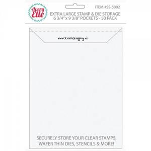 Bilde av Avery Elle - Die & Stamp Storage Pockets - Extra Large - 50stk