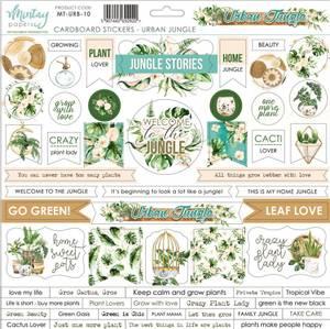 Bilde av Mintay - URB - 12x12 - Urban Jungle - Cardboard Stickers
