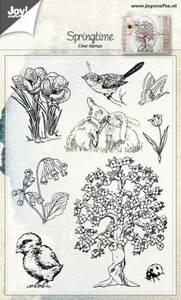Bilde av Joy Crafts - Clear stamps - 6410-0482 - Spring