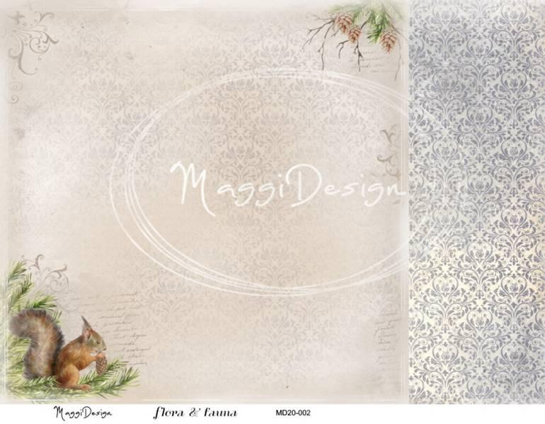 Maggi Design - MD20-002 - Flora & Fauna
