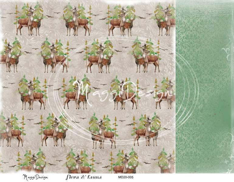 Maggi Design - MD20-005 - Flora & Fauna