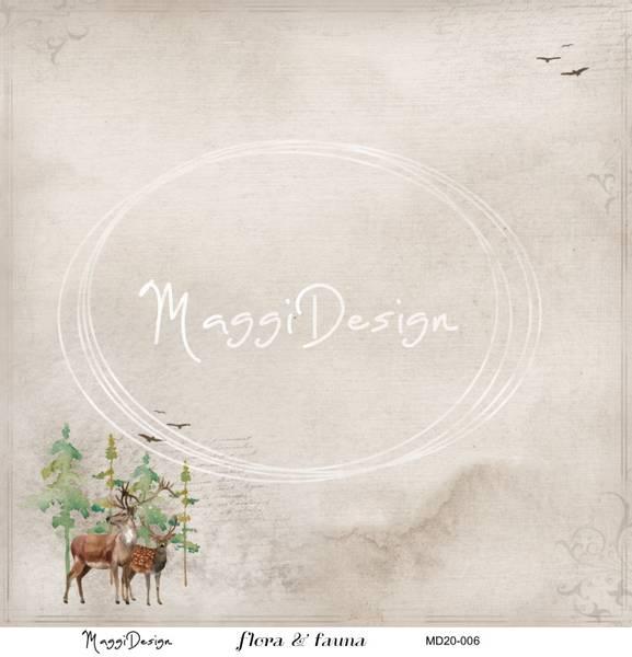 Maggi Design - MD20-006 - Flora & Fauna